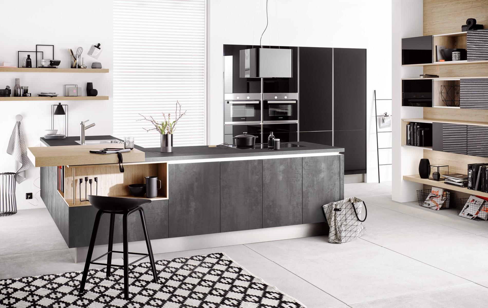 Häcker Küchen präsentiert neue Fronten in Betonoptik ...