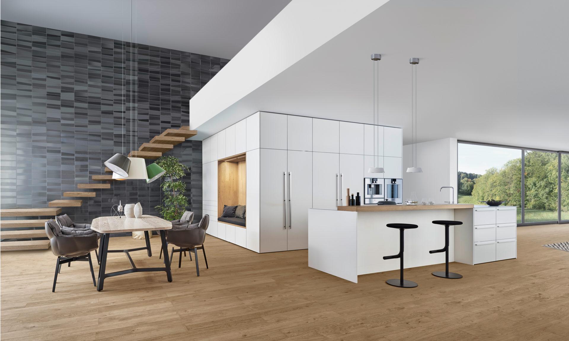 ein neues raumgef hl leicht k chen werden noch wohnlicher. Black Bedroom Furniture Sets. Home Design Ideas
