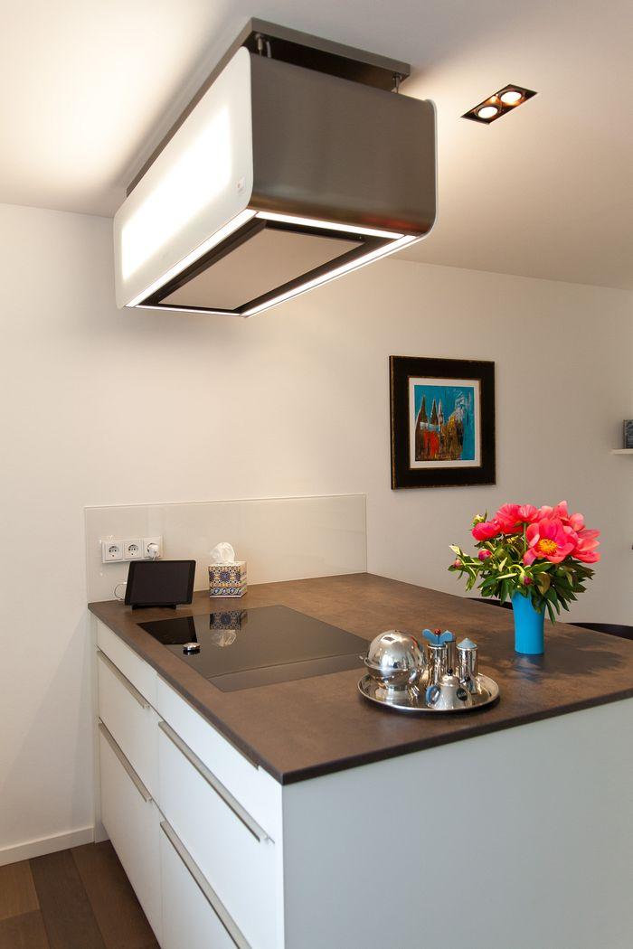 design k che mit kochinsel keramikarbeitsplatte und. Black Bedroom Furniture Sets. Home Design Ideas