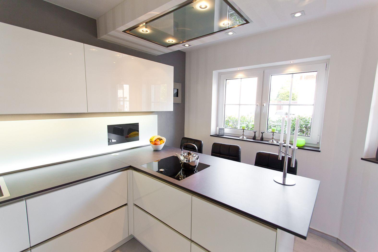 Küchen Weiss Hochglanz