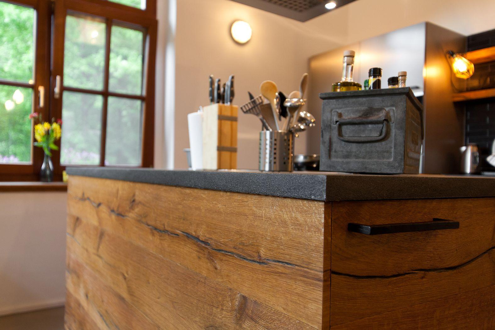 Küche: Wenn Landhausstil auf Moderne trifft - Küchenhaus ...
