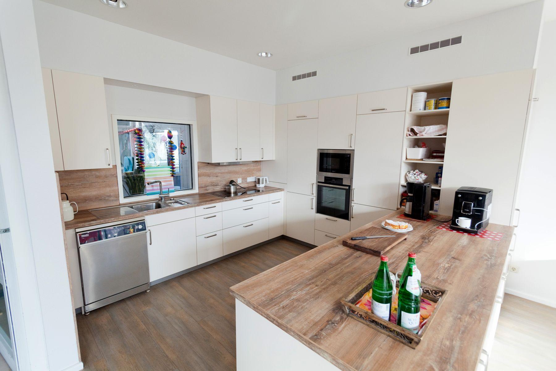 arbeitsplatte küche holz eiche: küchen modern holz weiß geizkauf.