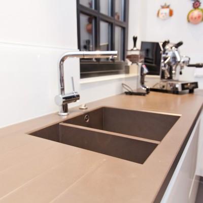 edelstahl spuelbecken modern wohnung. Black Bedroom Furniture Sets. Home Design Ideas