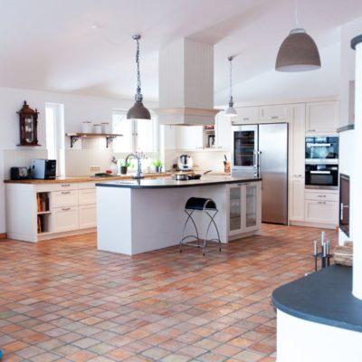 Landhaus kuche weiss for Nolte musterkuchen