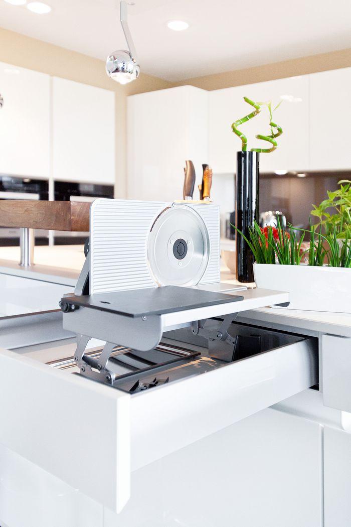 Küche Weiß Hochglanz Holz