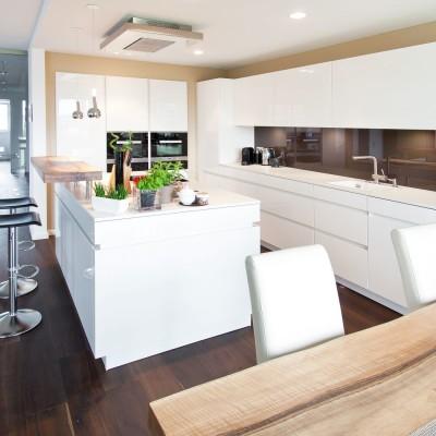 Grifflose Küchen Design Weiß Kochinsel Pedini Italien .