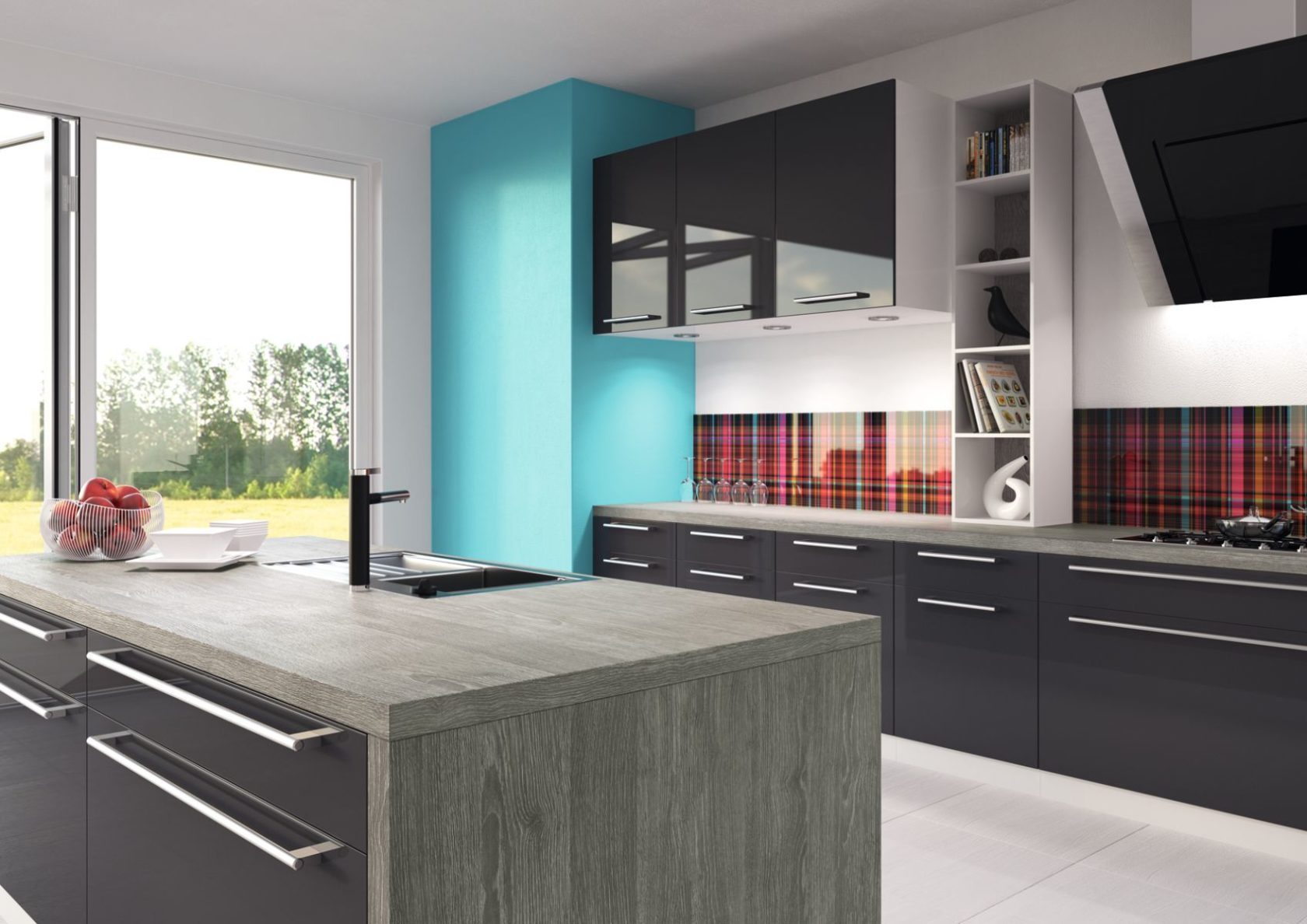 Küchen mit Naturstein, Glas und Laminat in allen Variationen ...