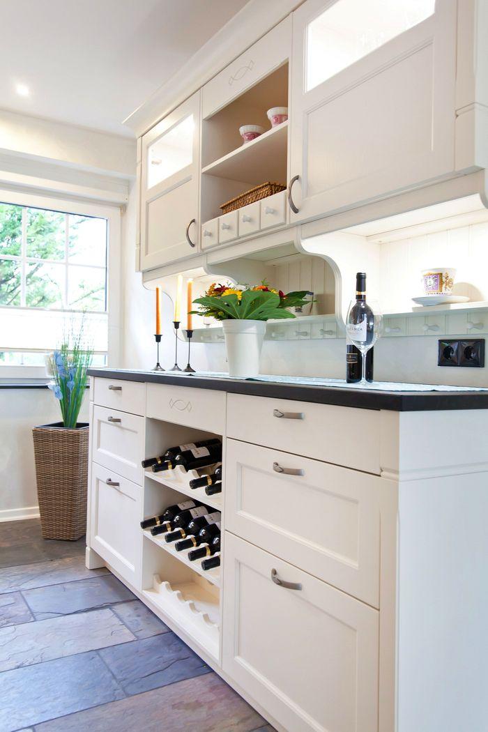 kuchen weiss landhausstil modern | badezimmer & wohnzimmer, Wohnzimmer design
