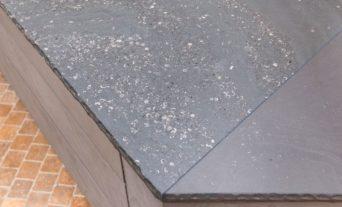 leicht grauwacke arbeitsplatte beton front
