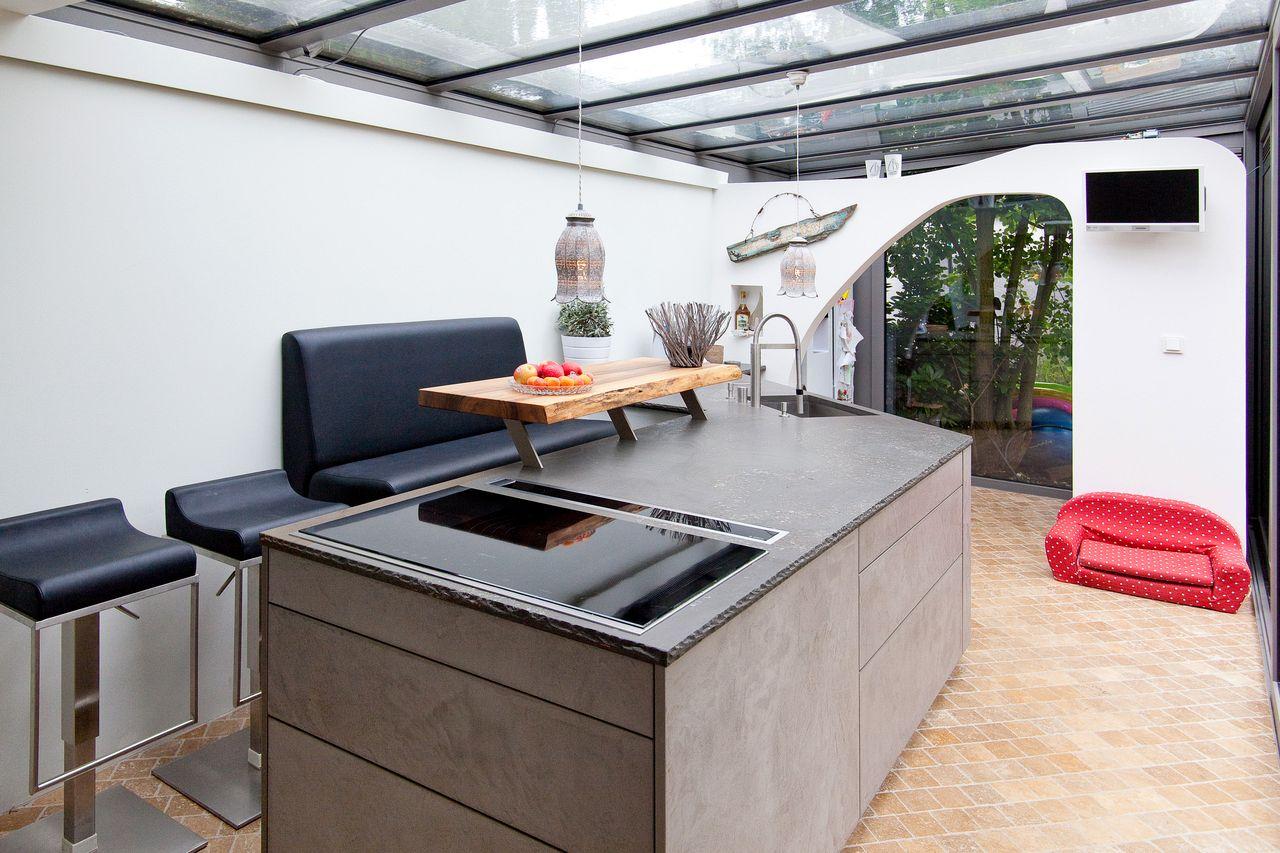Küchenfronten aus Beton sind der neue Trend im Küchendesign ... | {Leicht küchen fronten 97}