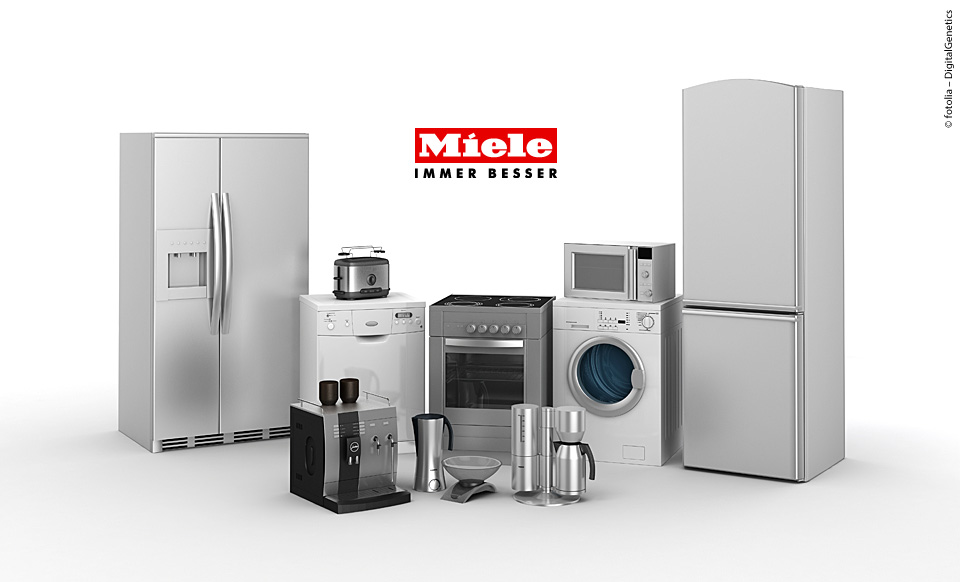 ➦ Miele Geräte – Miele Haushaltsgeräte – Miele Einbaugeräte ✓