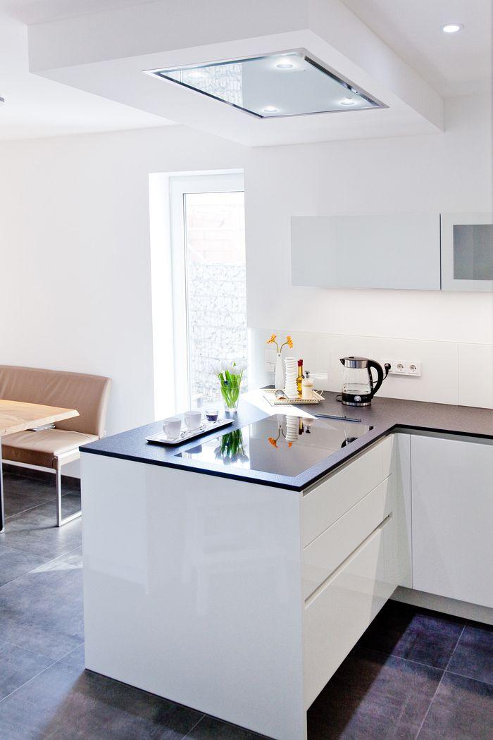 Küche Weiß Matt Grifflos