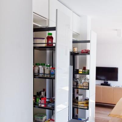 organisation in der küche schubkasteneinsätze schubladeneinlagen