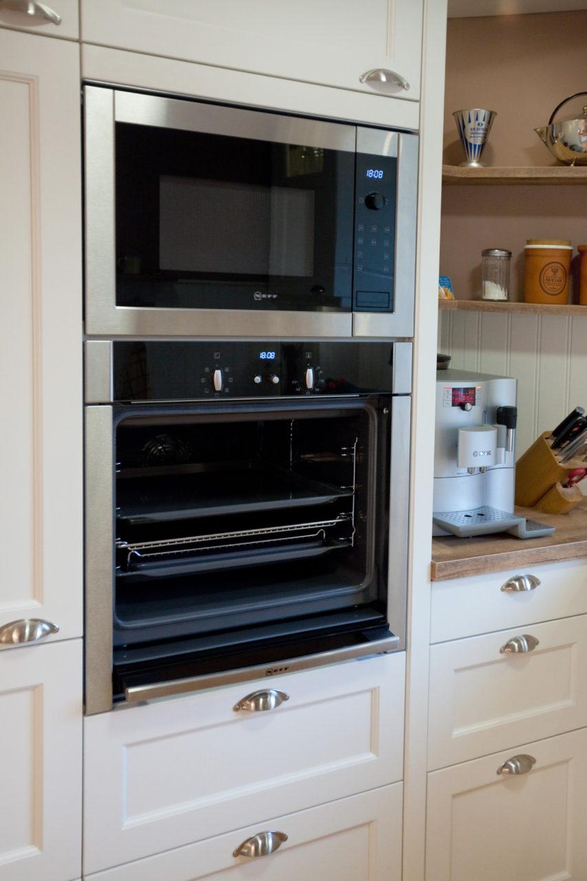Moderne Landhauskueche Weiß Klassisch Holz Kueche Kochinsel Bora Neff 086