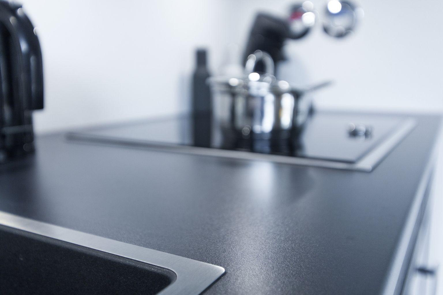 Arbeitsplatten küche schwarz – sehremini