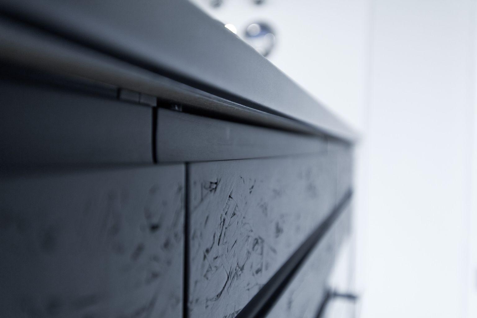Schwarz, das neue weiß – exklusive schwarz matt küche mit osb ...